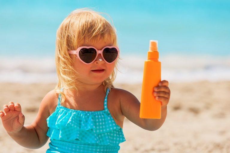 Cuidados na Praia - Protetor solar