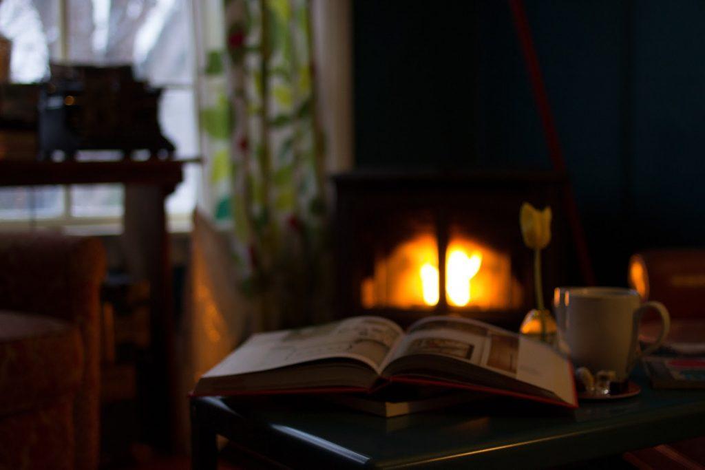 livro e inverno no Rio Grande do Sul